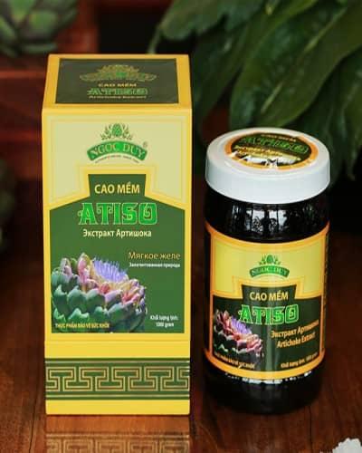 Cao Atiso cao cấp (hộp 1kg) - Cao Atiso Ngọc Duy Đà Lạt 1 kg