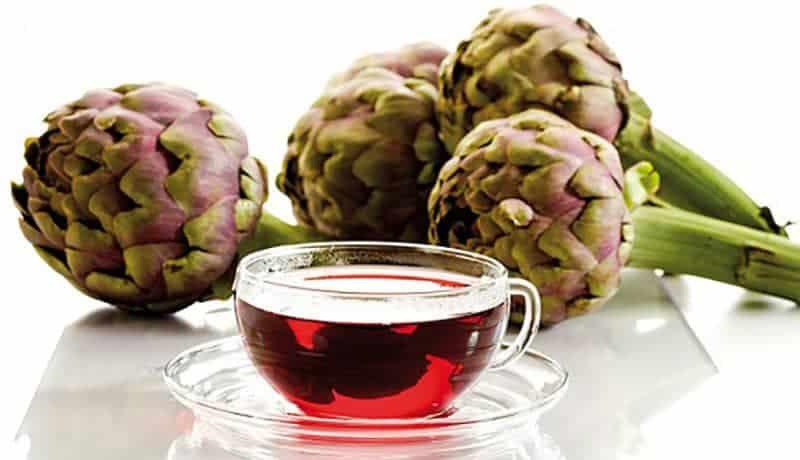 công dụng của trà atisô